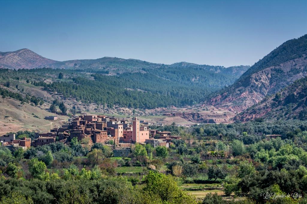 Village perché de la vallée de l'Ourika